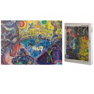 Marc Chagall puzzle - The circus horse