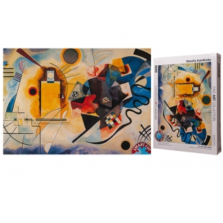 Kandinsky puzzle - Yellow Red Blue