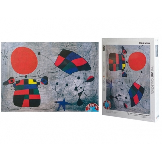 Joan Miro puzzle - The Smile of the Flamboyant Wings