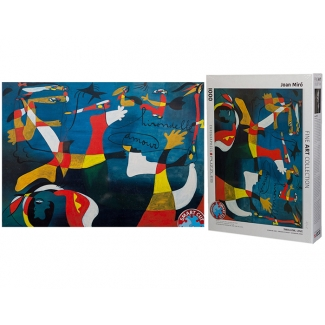 Puzzle Joan Miro : Hirondelle Amour