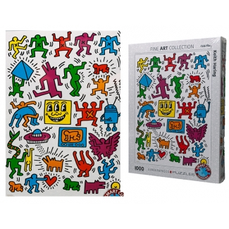 Puzzle Keith Haring : Collage