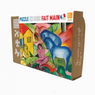 Franz Marc Wooden Puzzle for kids : The dream