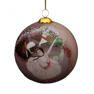 Edgar Degas glass ball christmas ornament : Dancers