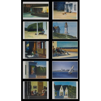 10 cartoline Edward Hopper
