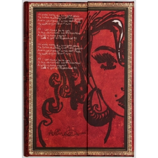 Carnet Paperblanks Amy Winehouse - carnet MIDI