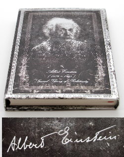 Carnet Paperblanks - Manuscrit estampé - Albert Einstein