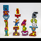 Games and toys with Keith Haring license
